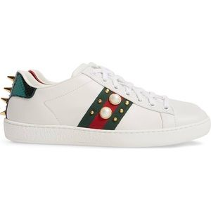 Gucci Studded Sneakers